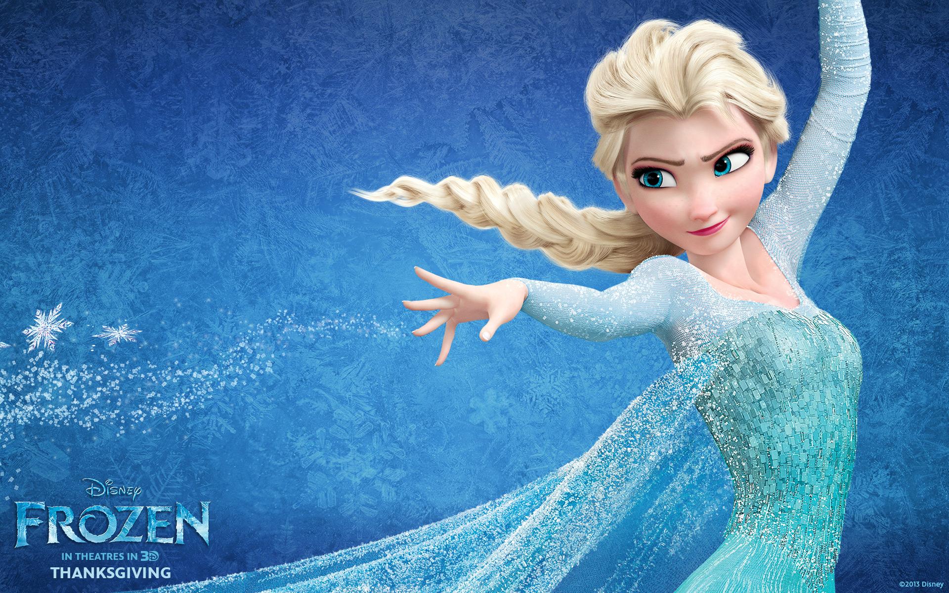 """My new hero: Queen Elsa from """"Frozen"""""""